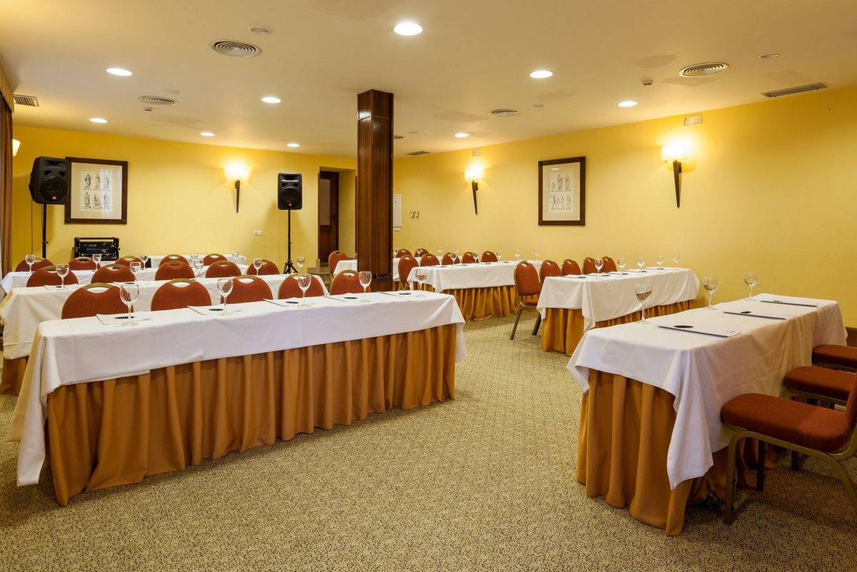 Meeting room ilunion mérida palace hotel ilunion mérida palace
